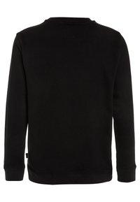Vans - CLASSIC CREW BOYS - Sweatshirt - black/white - 1