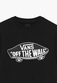 Vans - CREW BOYS - Sweatshirt - black-white outline - 3
