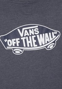 Vans - EXPOSITION CHECK CREW BOYS - Sweater - dress blues heather/white - 4