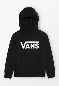 Vans - CLASSIC HOODIE KIDS - Jersey con capucha - black - 0