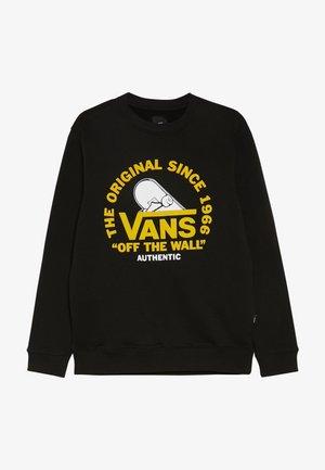 COPE WITH IT CREW BOYS - Sweatshirt - black