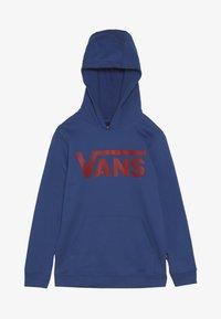 Vans - CLASSIC BOYS - Hoodie - true blue/racing red - 3