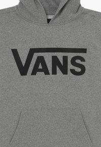 Vans - CLASSIC HOODIE BOYS - Felpa con cappuccio - cement heather - 3