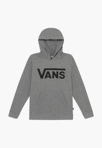 Vans - CLASSIC HOODIE BOYS - Felpa con cappuccio - cement heather - 0