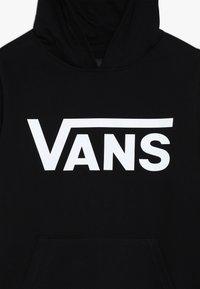 Vans - CLASSIC HOODIE BOYS - Felpa con cappuccio - black - 4