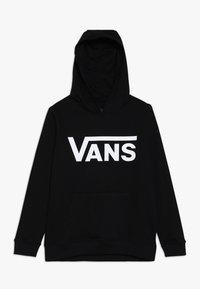 Vans - CLASSIC HOODIE BOYS - Felpa con cappuccio - black - 0