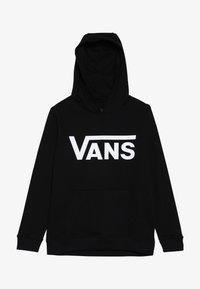 Vans - CLASSIC HOODIE BOYS - Felpa con cappuccio - black - 3