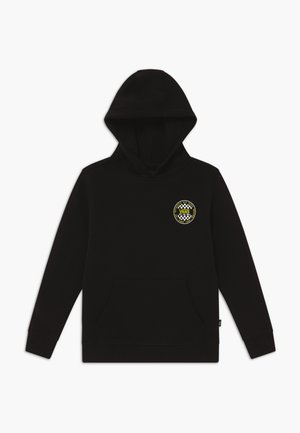 CHECKER BOYS - Hoodie - black/sulphur spring