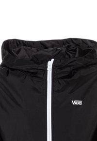 Vans - WARP CHECK BOYS - Light jacket - black - 3