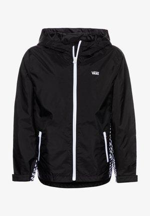 WARP CHECK BOYS - Light jacket - black