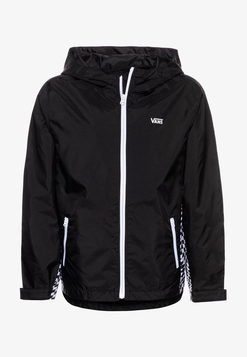Vans - WARP CHECK BOYS - Light jacket - black