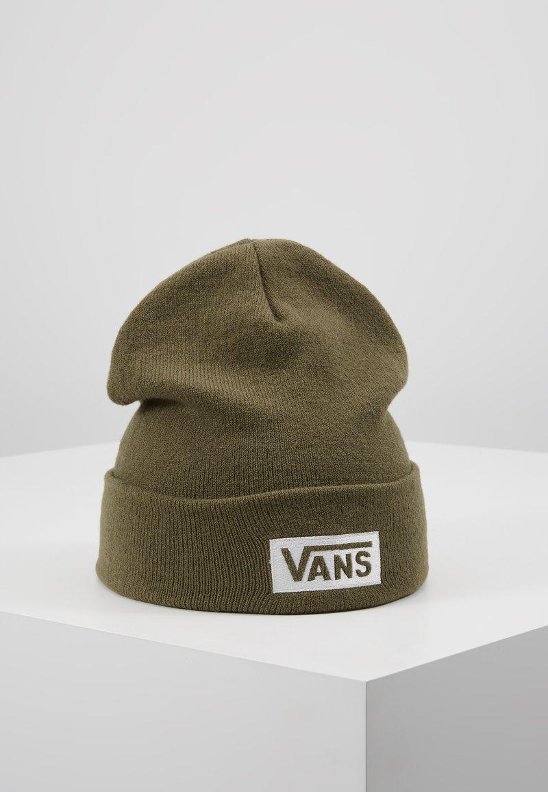 Vans - BREAKIN CURFEW BEANIE - Beanie - grape leaf/white
