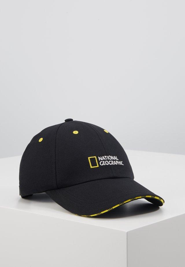 NAT GEO HAT - Keps - black