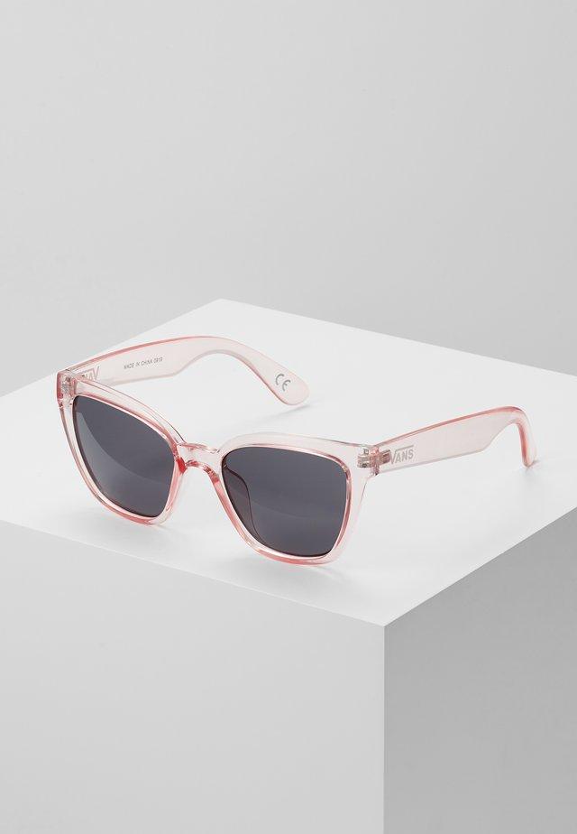 HIP CAT SUNGLASSES - Solglasögon - translucent fuchsia pink