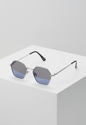 RIGHT ANGLE SUNGLASSES - Sluneční brýle - silver blue