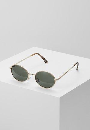 SUNGLASSES - Occhiali da sole - gold/green
