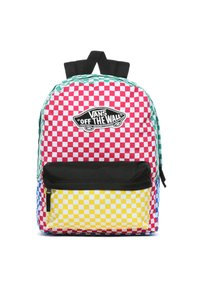 Vans - REALM BACKPACK - Rucksack - blue-black denim - 0