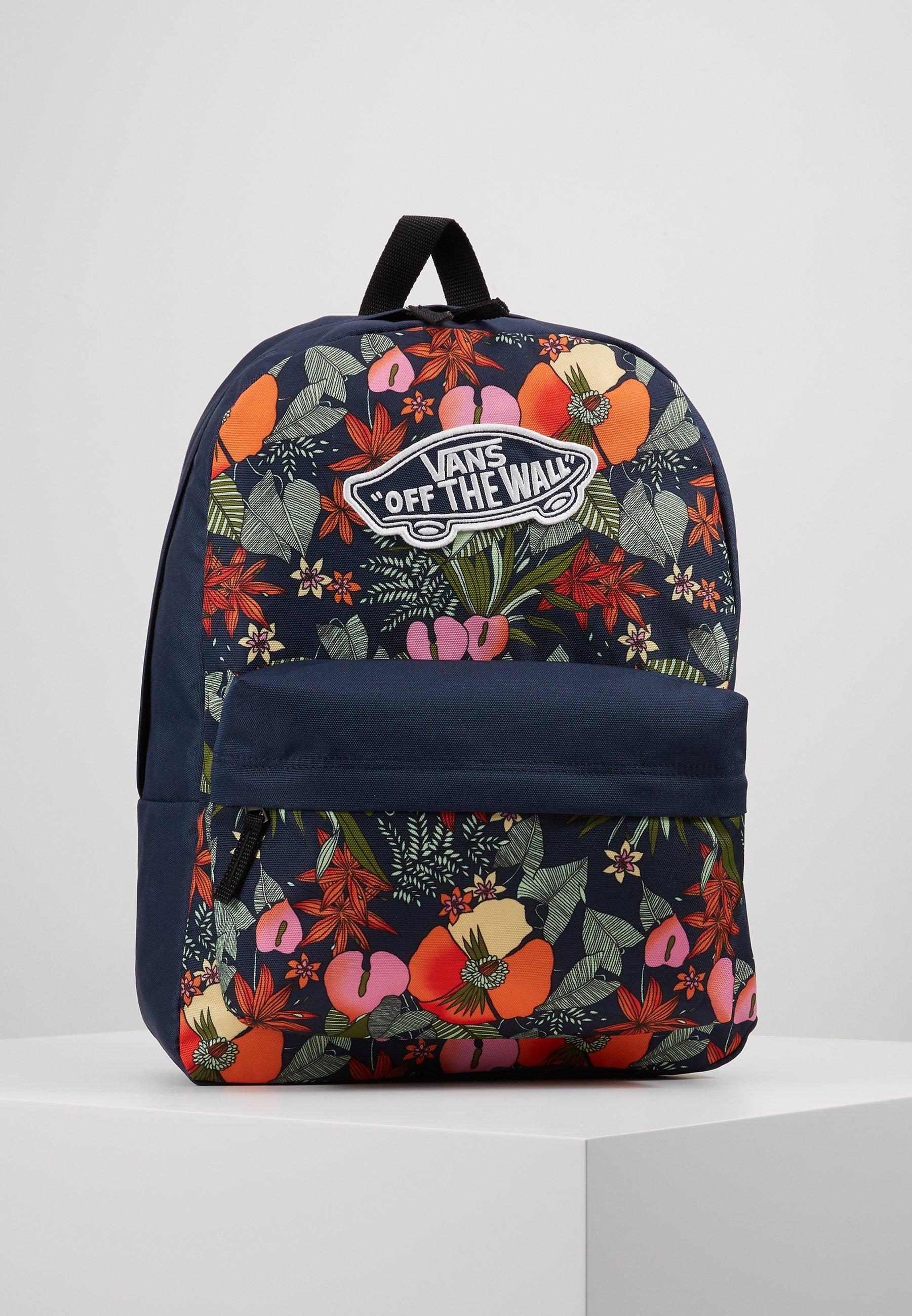 REALM BACKPACK Plecak multi tropic dress blues