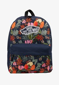 Vans - REALM BACKPACK - Reppu - multi tropic dress blues - 1
