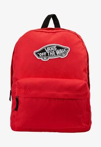 Vans - REALM BACKPACK - Reppu - poppy red - 5
