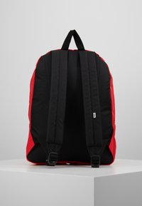 Vans - REALM BACKPACK - Reppu - poppy red - 2