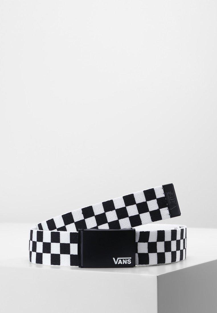 Vans - DEPPSTER BELT - Pasek - black/white