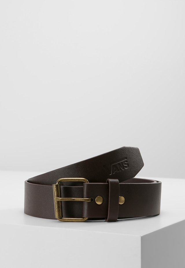 HUNTER II - Skärp - dark brown