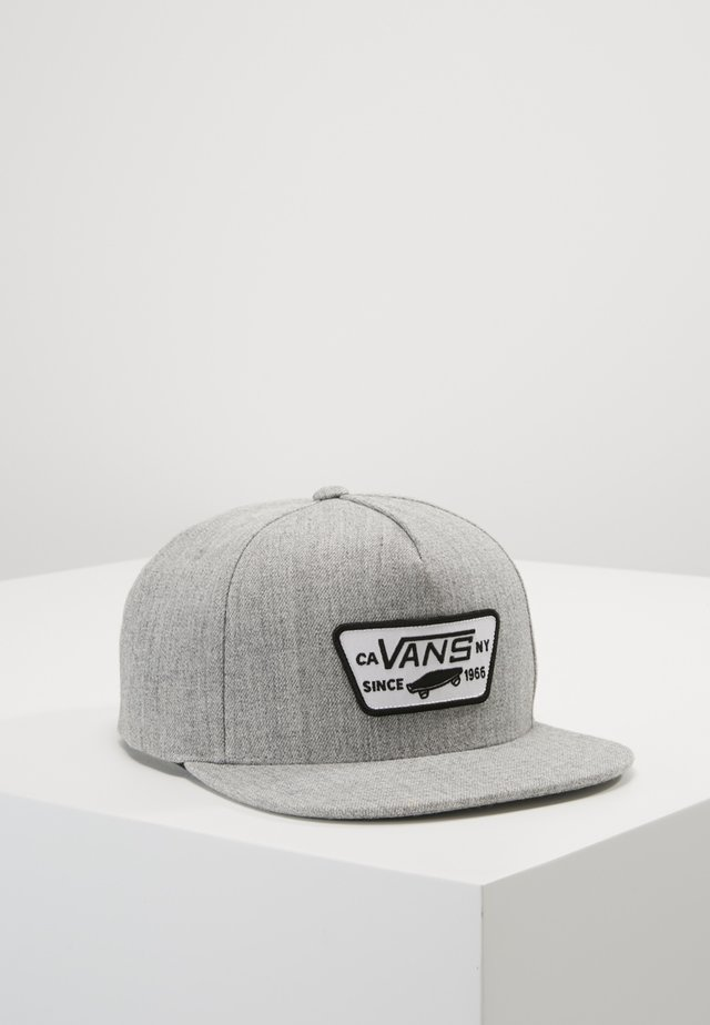 FULL PATCH SNAPBACK - Pet - heather grey