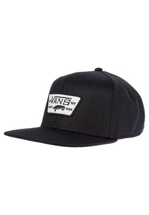 FULL PATCH SNAPBACK - Cappellino - true black