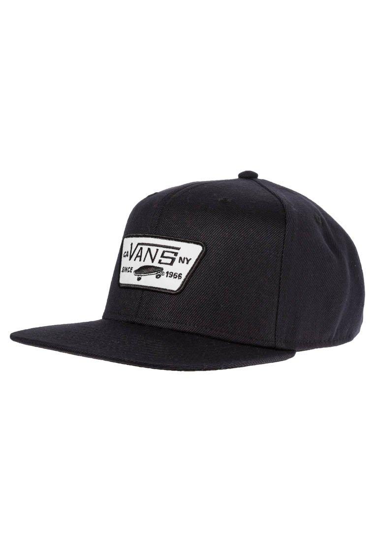 Vans - FULL PATCH SNAPBACK - Cap - true black