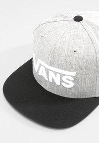 Vans - DROP II SNAPBACK - Cap - heather grey - 4