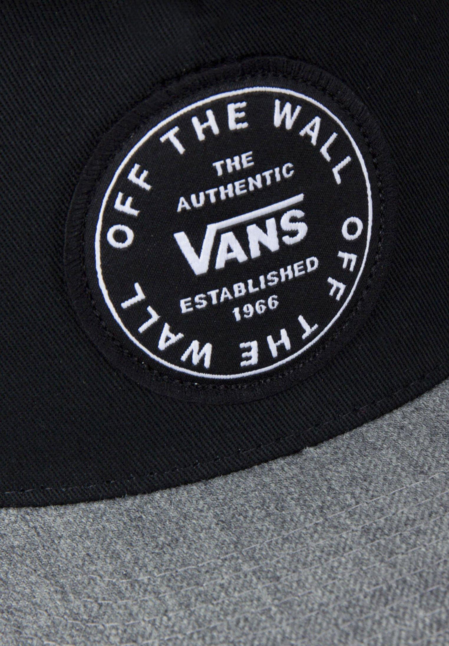 Vans Cap - black/heather grey