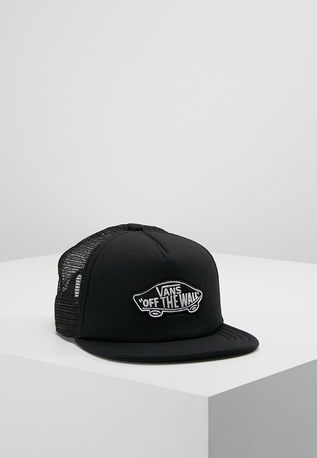 CLASSIC PATCH TRUCKER BOYS - Kšiltovka - black