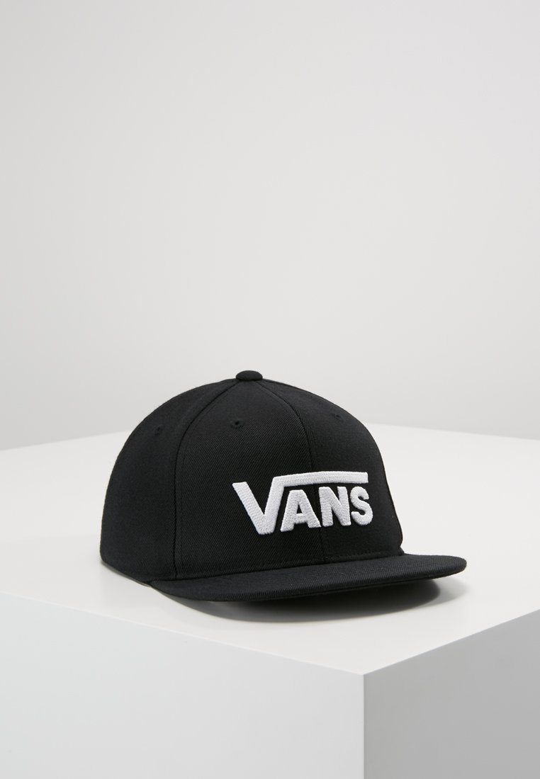 Vans - DROP SNAPBACK BOYS - Cappellino - black/white