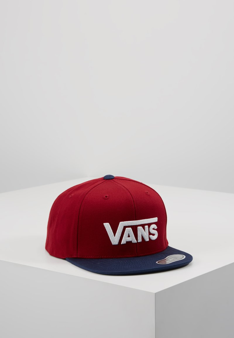 Vans - DROP SNAPBACK BOYS - Cap - dark red