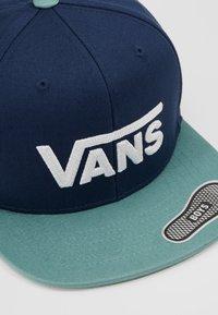 Vans - DROP SNAPBACK  - Cap - dress blues/oil blue - 2