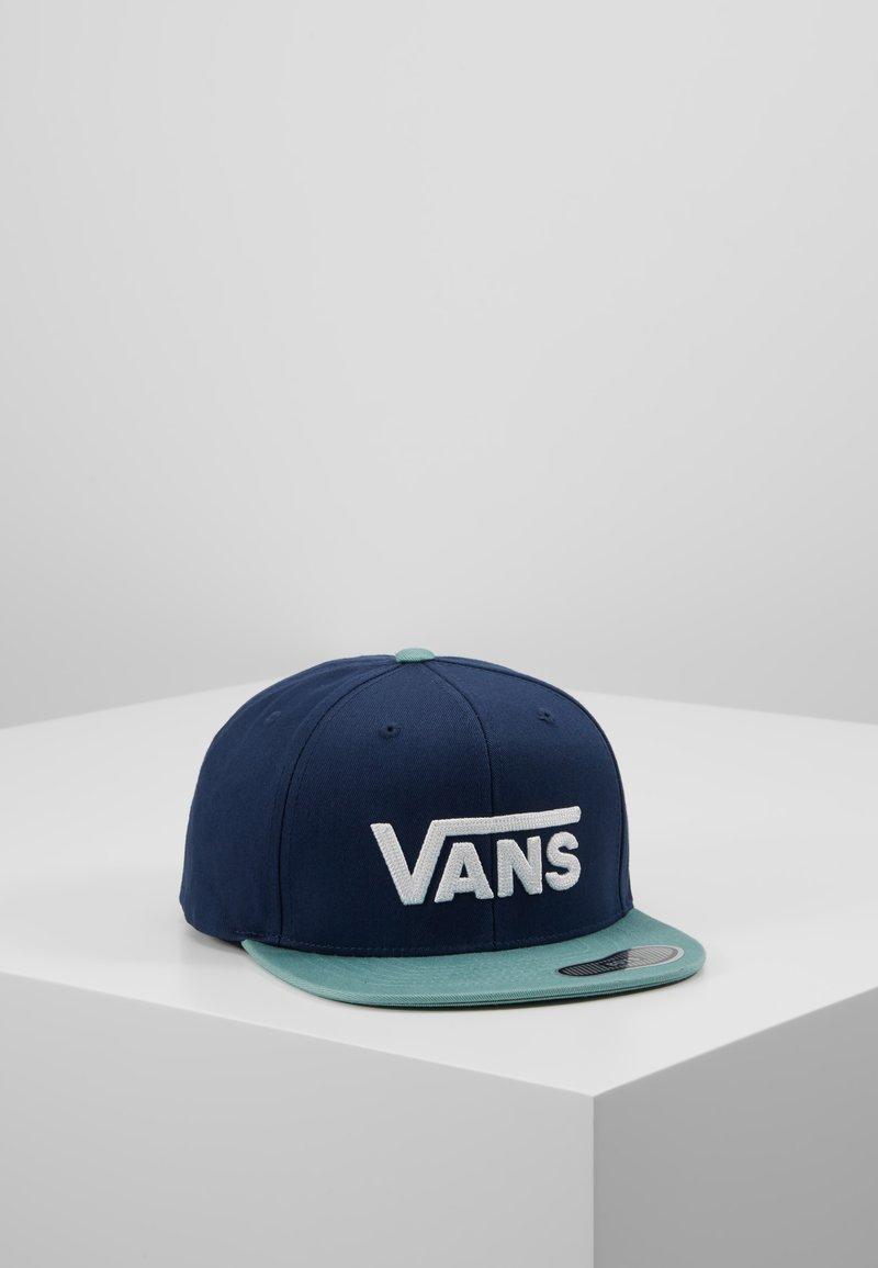 Vans - DROP SNAPBACK  - Cap - dress blues/oil blue