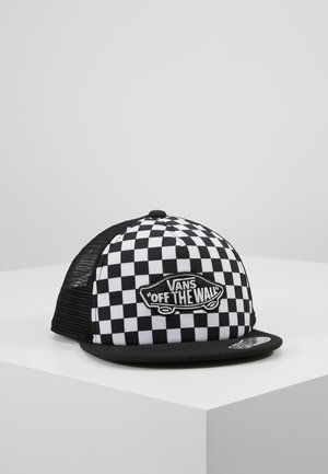 CLASSIC PATCH TRUCKER PLUS BOYS - Kšiltovka - black/white