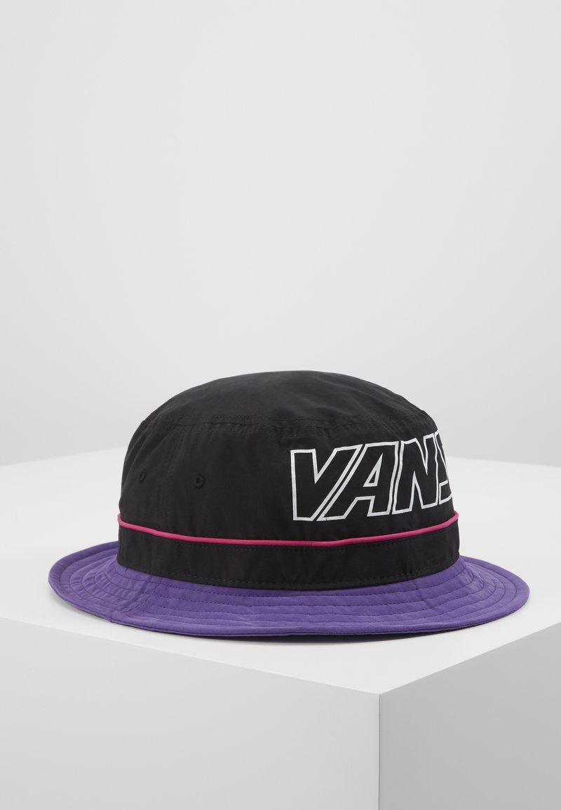 Vans - UNDERTONE BUCKET - Hat - black/heliotrope
