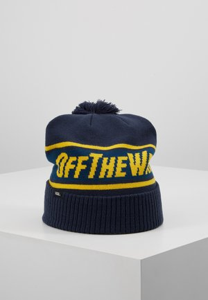 OFF THE WALL POMBEANIE - Berretto - dress blues/sulphur