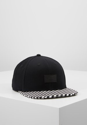 ALLOVER IT  - Keps - black/white