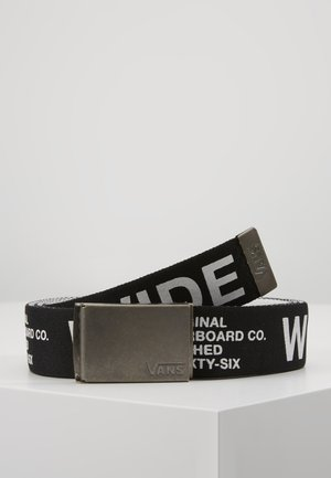 LONG DEPSTER WEB BELT - Vyö - black-white
