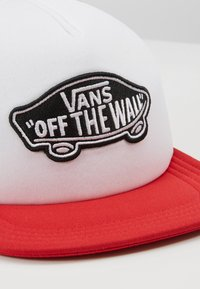 Vans - CLASSIC PATCH TRUCKER - Cap - racing red/white - 2