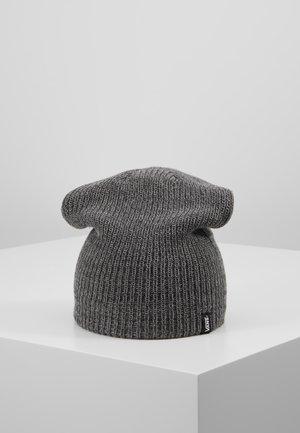 MISMOEDIG BEANIE - Čepice - frost grey/asphalt
