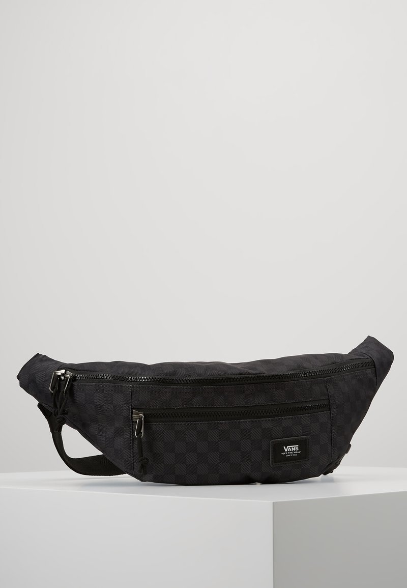 Vans - WARD CROSS BODY PACK - Heuptas - black/charcoal