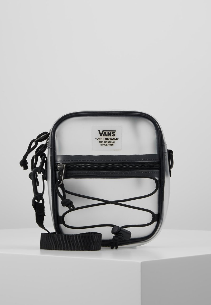 Vans - BAIL SHOULDER BAG - Bandolera - clear