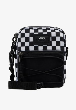 BAIL SHOULDER BAG - Torba na ramię - black/white