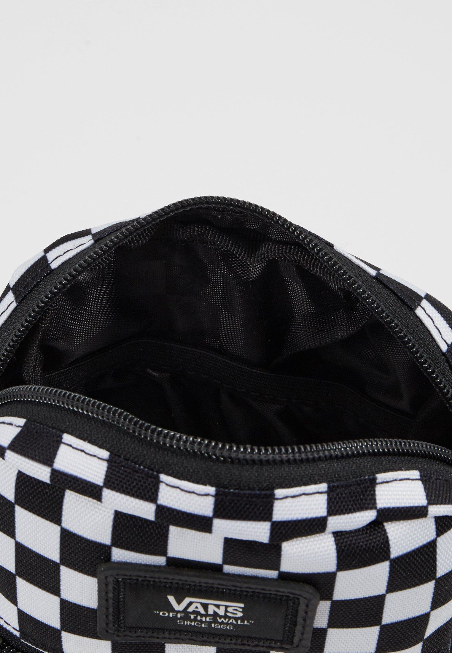 Vans BAIL SHOULDER BAG - Borsa a tracolla - black/white