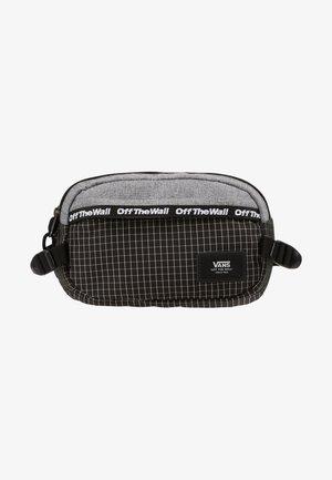 ALISO HIP PACK - Bum bag - heather suiting black