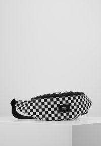 Vans - MINI WARD CROSS BODY - Saszetka nerka - black/white - 0